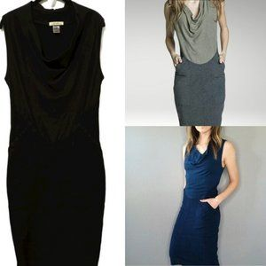 Prairie Underground Black Hemp Dress L